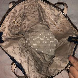 Michael Kors Bags - Navy Blue Michael Kors Shoulder Bag